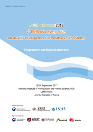 (4th) ISHS Asia Symposium on Quality management in Postharvest Systems :Programme and Book of Abstracts