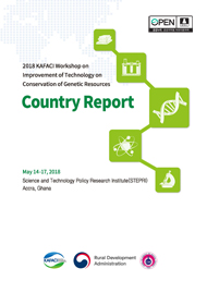 KAFACI Workshop on Improvement of Technology on Conservation of Genetic Resources Country Report