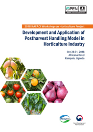 Development and Application of Postharvest Handling Model in Horticulture Industry