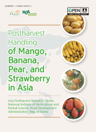 Postharvest handling of Mango, Banana, Pear, and Strawberry in Asia